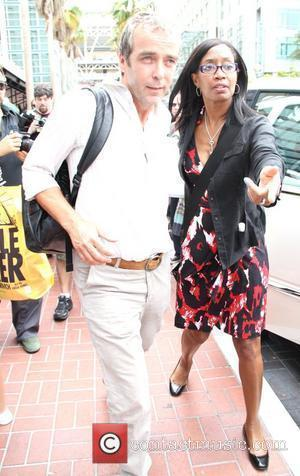 John Hannah is seen leaving the Hard Rock Cafe. San Diego, California - 24.07.10