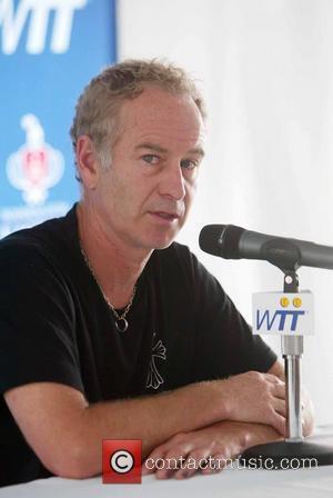 John McEnroe attends a press conference at Kastles Stadium Washington DC, USA - 20.07.10