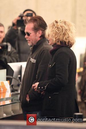 Rumoured couple John Mellencamp and Meg Ryan visit the Whitney Museum of American Art New York City, USA - 05.01.11