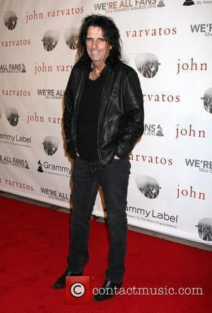 Alice Cooper John Varvatos' 52nd Annual Grammy Awards 'We're All Fans' party in West Hollywood - Arrivals Los Angeles, California...