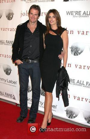 Rande Gerber & Cindy Crawford John Varvatos' 52nd Annual Grammy Awards 'We're All Fans' party in West Hollywood - Arrivals...