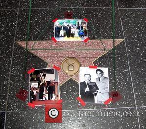 Tributes Are Placed On The Hollywood Walk Of Fame Star For Johnny Grant Who Passed Away On January 9th 2008