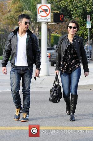 Joe Jonas  has lunch with a friend in West Hollywood Los Angeles, California - 07.01.11