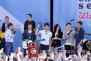 Joe Jonas, Demi Lovato and Jonas Brothers
