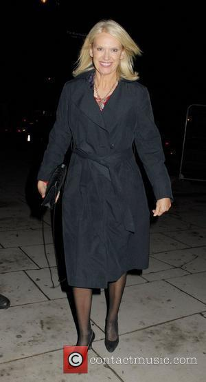 Anneka Rice,  at celebrity agent, Jonathan Shalit's wedding party at The Victoria & Albert Museum London, England - 11.11.10