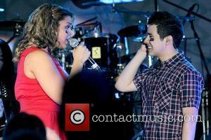 Jordin Sparks and David Archuleta performing The 3rd Annual Jordin Sparks Experience At The Eden Roc Resort Miami, Florida -...