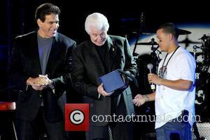 Lou Ferrigno, Bill Austin and Guest The 3rd Annual Jordin Sparks Experience At The Eden Roc Resort Miami, Florida -...