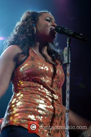 Jordin Sparks performs at Club Nokia as part of her Battlefield tour Los Angeles, California - 09.07.10