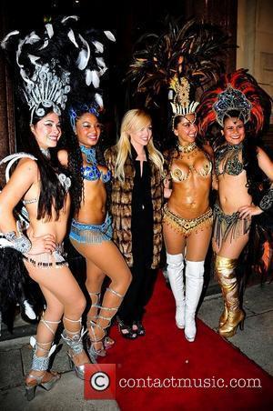 Hollyoaks star, Jorgie Porter at the opening of new restaurant Viva Brazil Liverpool, England - 30.09.10