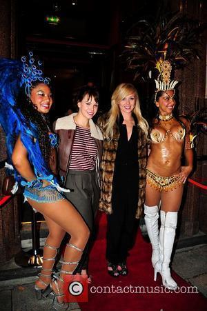 Hollyoaks stars, Jessica Fox and Jorgie Porter at the opening of new restaurant Viva Brazil Liverpool, England - 30.09.10