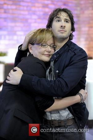 Marilyn Denis and Josh Groban  appears on The Marilyn Denis Show at CTV HQ.  Toronto, Canada - 11.01.11