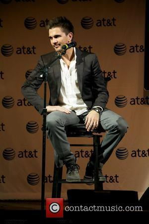 Latin recording artist Juanes attends a press conference to launch his new album P.A.R.C.E.  at Irving Plaza New York...