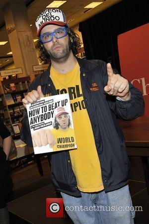 Judah Friedlander autograph session at Chapters Festival Hall promoting his book 'How To Beat Up Anybody'. Toronto, Canada - 22.11.10
