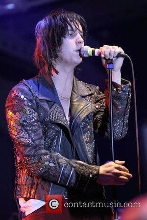 Julian Casablancas  performing live on stage at Kool Haus.  Toronto, Canada - 02.04.10