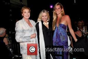 Julie Andrews, Courtney Sale Ross and Nicole Ross Ross School honours Julie Andrews at the 7th Annual Live at Club...