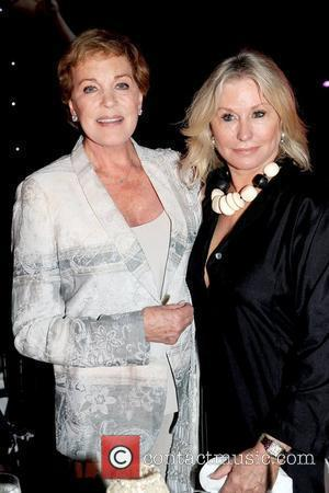 Julie Andrews and Courtney Sale Ross