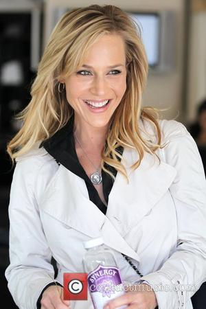 'Desperate Housewives' star Julie Benz and a friend shop at Paige Premium Denim on Robertson Boulevard Los Angeles, California -...