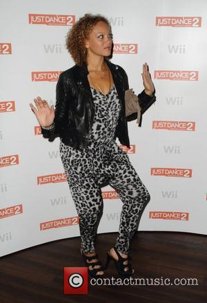 Angela Griffin and Wii