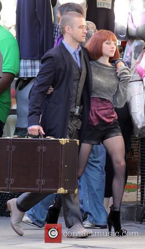 Justin Timberlake and Amanda Seyfried
