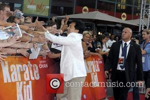 Jackie Chan at the German premiere of Karate Kid at CineStar am Potsdamer Platz movie theatre. Berlin, Germany - 19.07.2010
