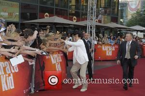 Jackie Chan at the German premiere of Karate Kid at CineStar am Potsdamer Platz movie theatre. Berlin, Germany - 19.07.2010