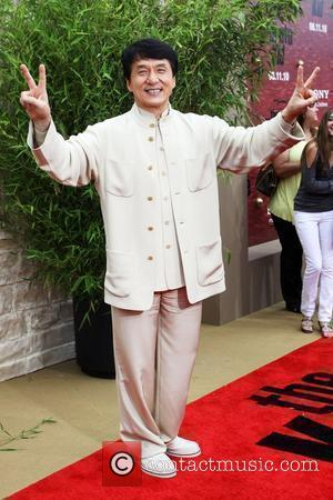 Jackie Chan The LA Premiere of 'The Karate Kid' held at the Mann Village Theatre in Westwood Los Angeles, USA...