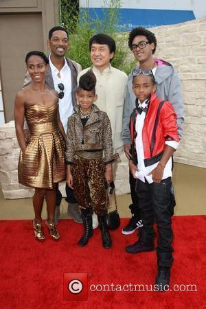 Will Smith, Jackie Chan, Jaden Smith, Jada Pinkett