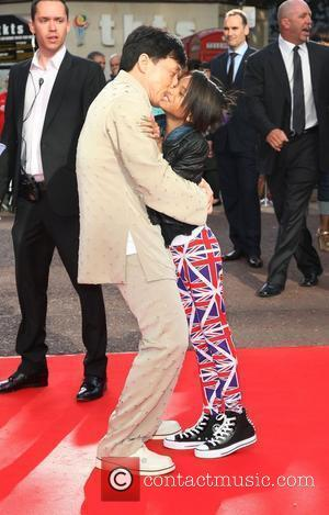 Jackie Chan and Willow Smith