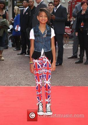 Willow Smith UK film premiere of Karate Kid held at the Odeon cinema London, England - 15.07.10