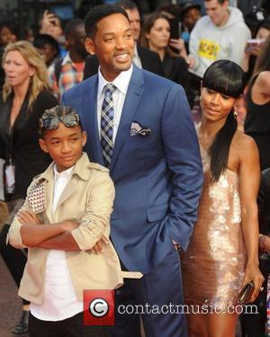Jaden Smith, Will Smith and Jada Pinkett Smith UK film premiere of Karate Kid held at the Odeon cinema London,...