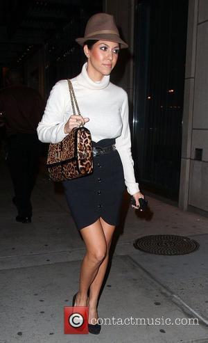 Khloe Kardashian and Leaves