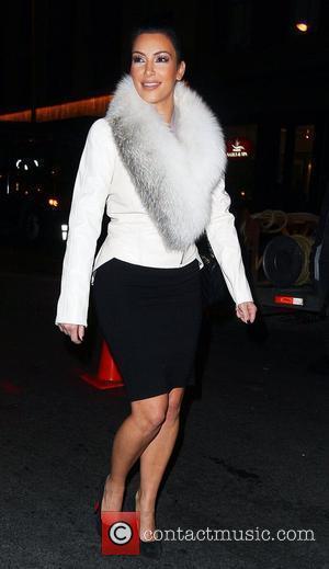 Kim Kardashian and Leaves
