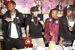 Cali Swag District  at Millions of Milkshakes in West Hollywood Los Angeles, California - 26.08.10