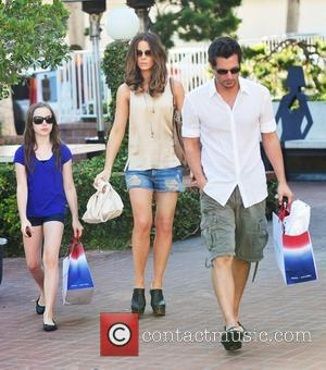 Kate Beckinsale, Lily Mo Sheen and Len Wiseman shopping in Santa Monica Santa Monica, California - 21.08.10