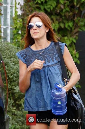Kate Walsh departs the Andy Lecompte Salon Los Angeles, California - 09.07.10
