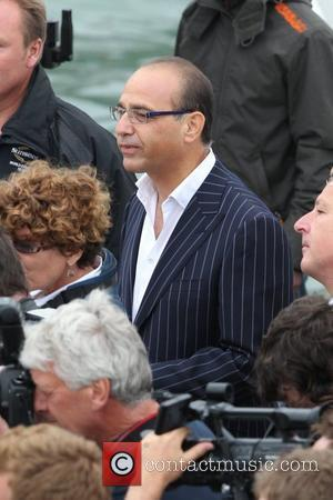 Theo Paphitis watching Katherine Jenkins launches the Sunseeker vessel at the PSP Southampton Boat Show Southampton, England - 10.09.10