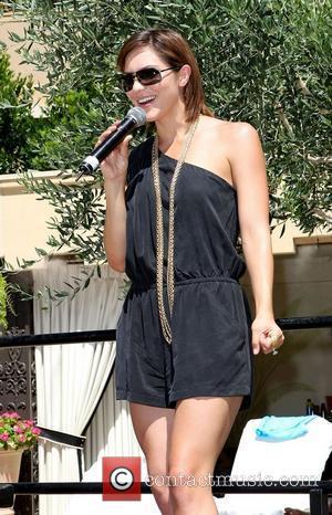 Katherine McPhee performs at Azure Luxury Pool at The Palazzo Resort Casino Las Vegas, NV Las Vegas, USA - 26.06.10