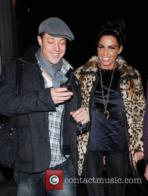 Katie Price, aka Jordan and enjoying a night out with Duncan James