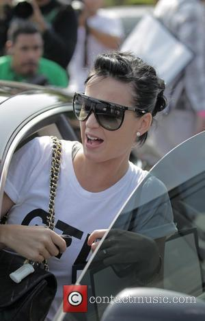 Katy Perry and Friends Leaving Fred Segal After Having Lunch.