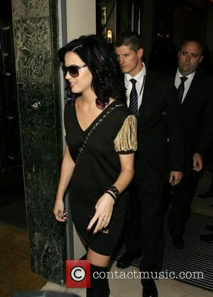 Katy Perry leaving Claridges hotel.  London, England - 01.09.10