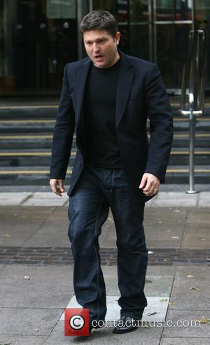Kenny Goss  leaving the Highbury Corner Magistrates' Court after boyfriend George Michael was sentenced to 8 weeks in prison...