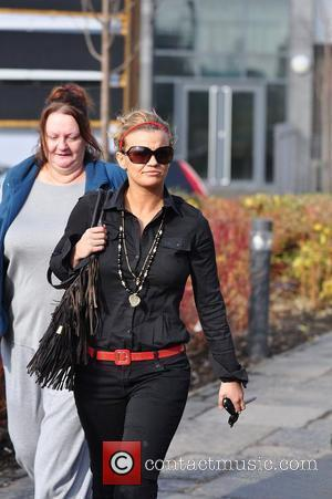 Kerry Katona and her mum Sue Katona  going for lunch at a Toby Carvery Warrington, England - 02.03.10