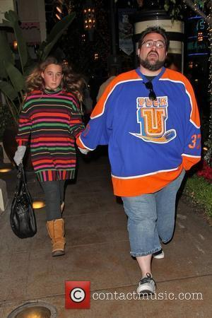 Kevin Smith and his daughter, Harley Quinn, shopping at The Grove Los Angeles, USA - 27.11.10