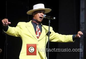 Kid Creole performs live on the main stage during day 2 of Guilfest 2010 at Stoke Park Guildford, England -...