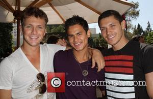 Xavier Samuel, Bronson Pelletier, Alex Meraz 102.7 Kiis Fm Teens Choice Awards 2010 Lounge held at The W Hotel Los...
