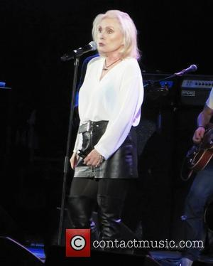 Debbie Harry of 'Blondie' Rock stars unite for the 'Killing Cancer Charity Concert' held at The HMV Hammersmith Apollo London,...