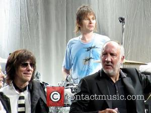 Jeff Beck, Zak Starkey and Pete Townsend Rock stars unite for the 'Killing Cancer Charity Concert' held at The HMV...