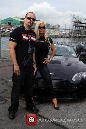 Ice-T and CoCo aka Nicole Austin The 2010 AMP Energy Bullrun Rally kick off held at Pier 54. New York...