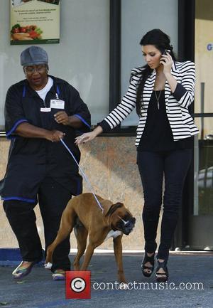 Kim Kardashian and Rocky