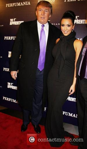 Donald Trump and Kim Kardashian  Party to celebrate Perfumania's appearance with Kim Kardashian on 'The Apprentice' at Provacateur...